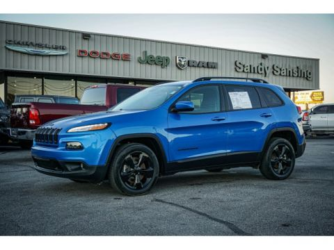 2018 Jeep Cherokee Altitude FWD 4D Sport Utility