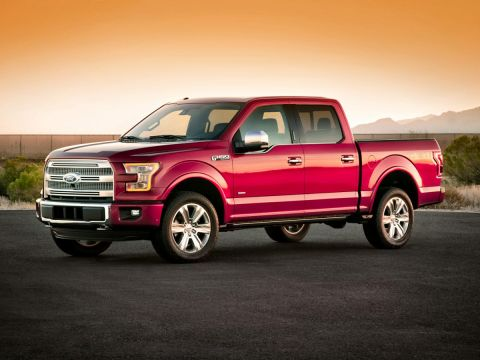 2016 Ford F-150 XLT 4WD 4D SuperCrew
