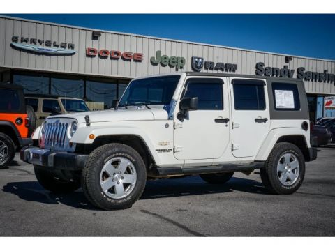 2010 Jeep Wrangler Unlimited Sahara 4WD 4D Sport Utility