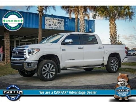 2018 Toyota Tundra Limited 4WD 4D CrewMax